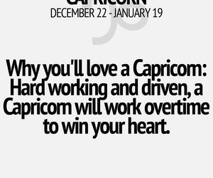 capricorn and love image