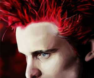 muse, hair, and Matt Bellamy image