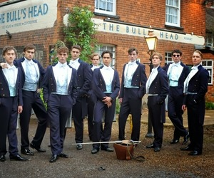 the riot club, douglas booth, and sam claflin image