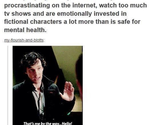 sherlock and fandom image