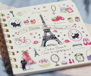 art, colorful, and eiffel image