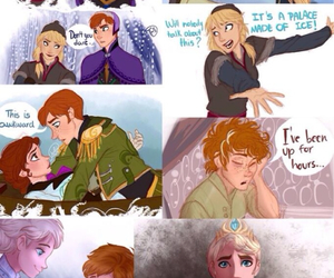 frozen, elsa, and anna image