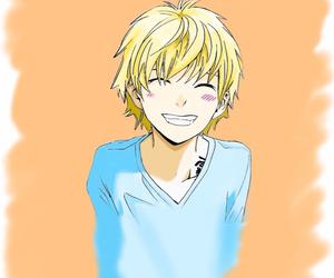 anime, boy, and happy image