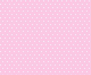 pink, polka dot, and wallpaper image
