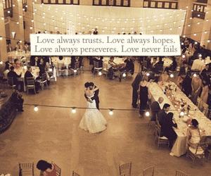 love, wedding, and god image
