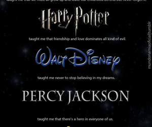 harry potter, narnia, and percy jackson image