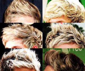 one direction, niall horan, and hair image