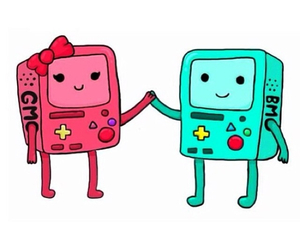 love, bmo, and cartoon image
