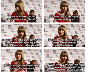 Taylor Swift and giant doll house image