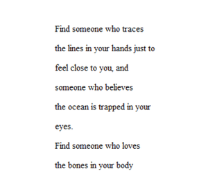 truth, love, and someone like this image