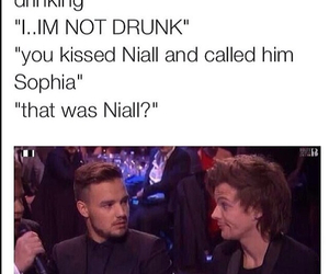 funny, liam payne, and louis tomlinson image