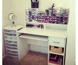 makeup, bedroom, and room image