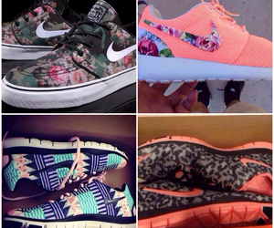 aztec, floral, and nike image