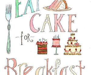 cake and breakfast image