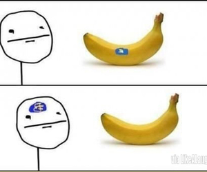 banana, funny, and lol image