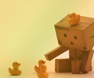 cute, duck, and game image