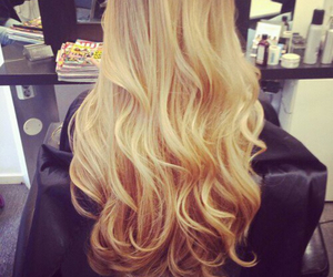 beautiful, waves, and blonde image