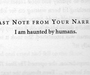 book, quotes, and haunted image
