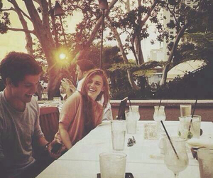 holland roden, daniel sharman, and teen wolf image