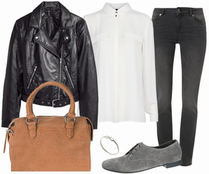 basic, casual, and chic image