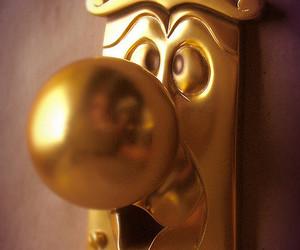 alice in wonderland, disney, and door image