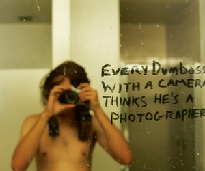 boy, camera, and quotes image