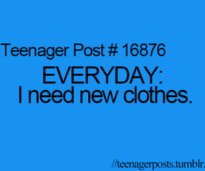teenager post, clothes, and quote image
