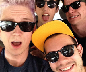 tyler oakley, troye sivan, and connor franta image