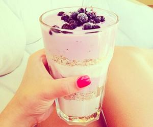 food, yummy, and blueberry image