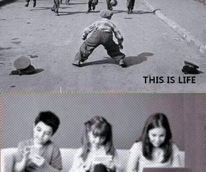 life, kids, and shit image