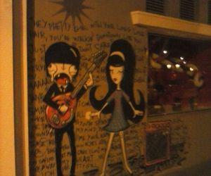 boy, graffiti, and song image