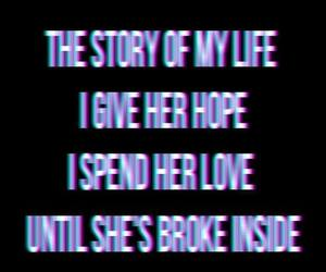 story of my life, one direction, and hope image