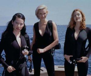 charlie's angels, cameron diaz, and drew barrymore image
