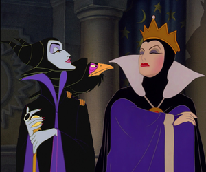 evil, disney, and Queen image