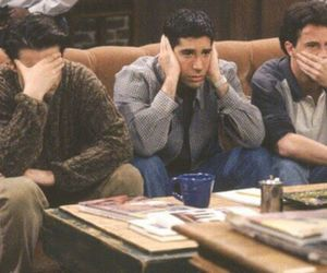 chandler, Joey, and ross image
