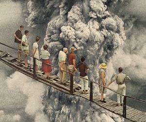 volcano, smoke, and nature image