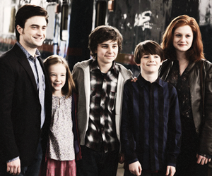 harry potter, family, and ginny weasley image