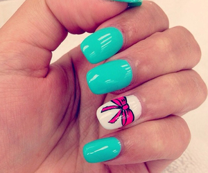 nail, pink, and funmy image