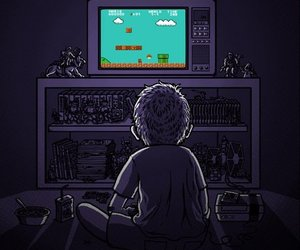 game, mario, and video games image