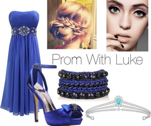 fashion, Polyvore, and Prom image