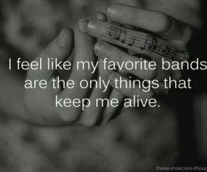 band, music, and alive image