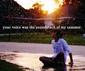summer, voice, and quote image