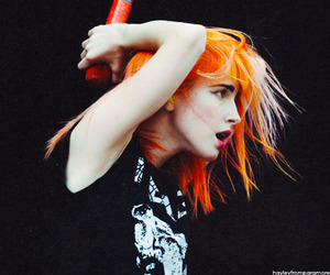 paramore, hayley williams, and hair image