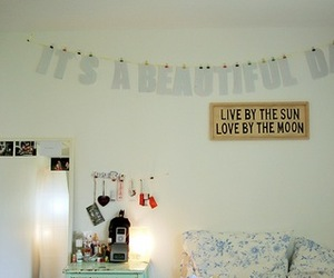 beautiful, room, and bedroom image