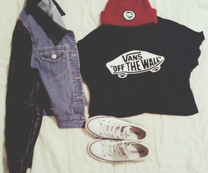 alternative, vans, and beanie image
