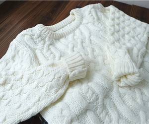 sweater, cozy, and fashion image