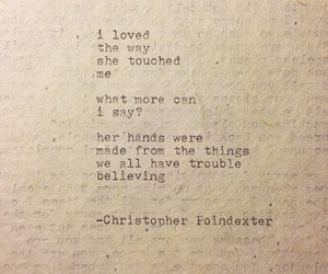 quote, christopher poindexter, and love image