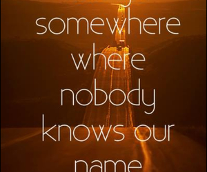 quote, somewhere, and name image