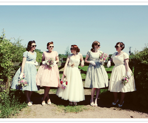 vintage, 50s, and dresses image