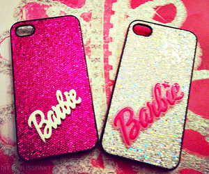 barbie, pink, and case image